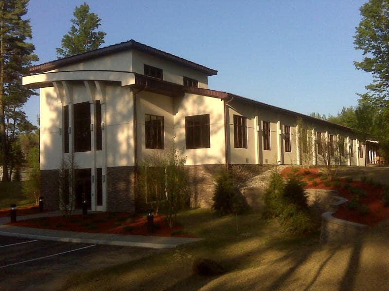 Custom Office Addition - Bonacio Construction