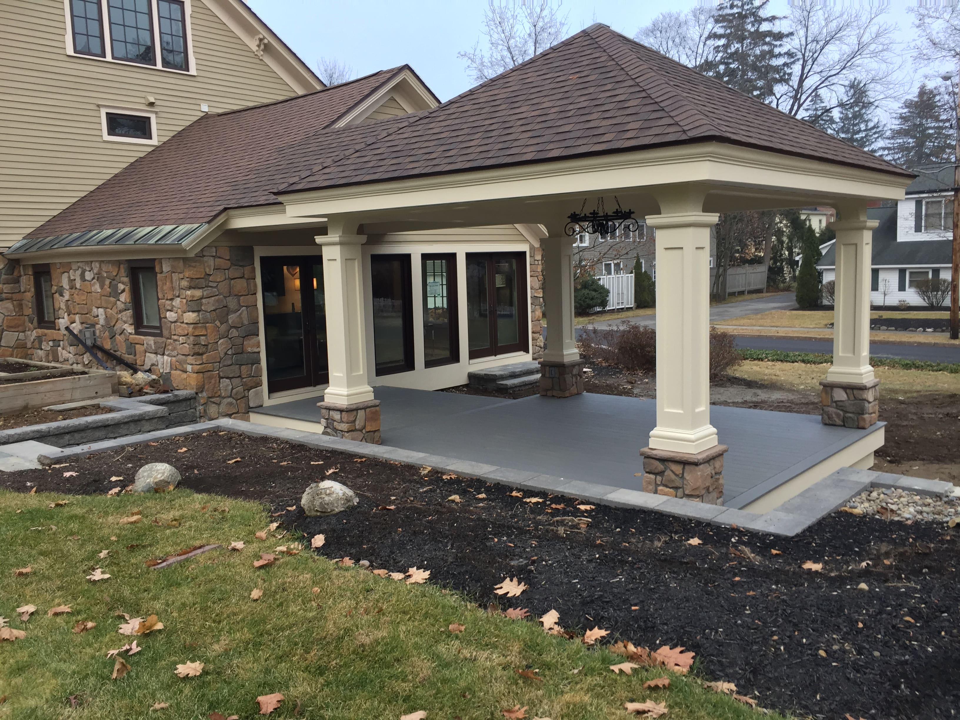 Porch Addition - Bonacio Construction