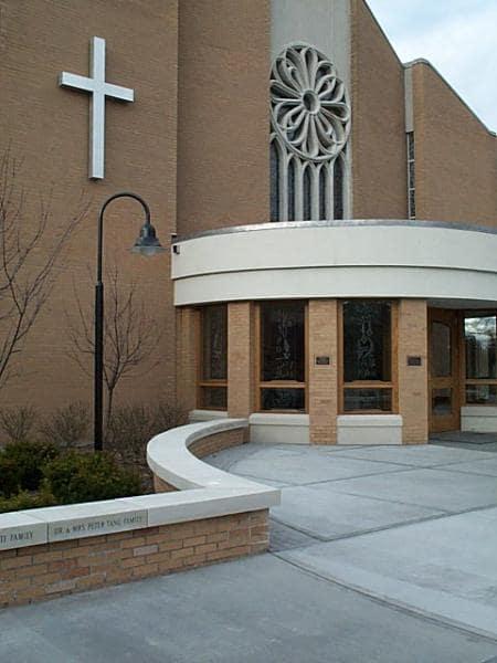 St. Clements Entry - Bonacio Construction