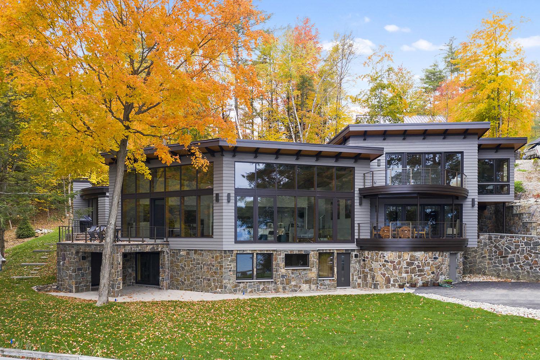 Private Lake House, Lake George - Bonacio Construction
